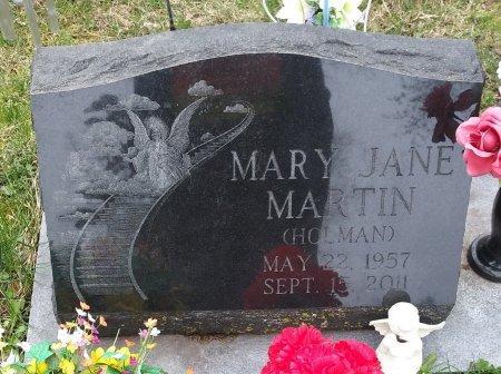 HOLMAN MARTIN, MARY JANE - Ralls County, Missouri   MARY JANE HOLMAN MARTIN - Missouri Gravestone Photos