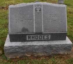 RHODES, SUSIE - Ralls County, Missouri   SUSIE RHODES - Missouri Gravestone Photos