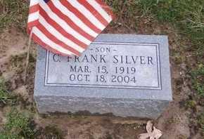 SILVER, C FRANK - Ralls County, Missouri | C FRANK SILVER - Missouri Gravestone Photos