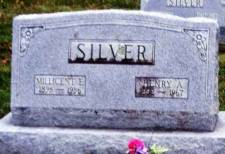 SILVER, HENRY A - Ralls County, Missouri | HENRY A SILVER - Missouri Gravestone Photos