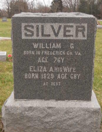 SILVER, ELIZA A - Ralls County, Missouri | ELIZA A SILVER - Missouri Gravestone Photos