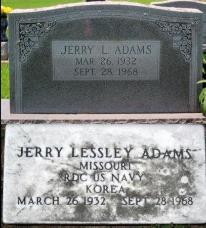ADAMS, JERRY LESSLEY (VETERAN KOR) - Randolph County, Missouri | JERRY LESSLEY (VETERAN KOR) ADAMS - Missouri Gravestone Photos