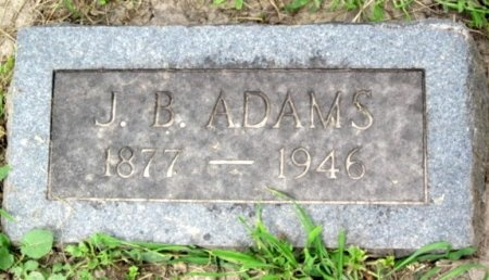 ADAMS, JOHN BLACKFORD - Randolph County, Missouri | JOHN BLACKFORD ADAMS - Missouri Gravestone Photos