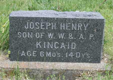 KINCAID, JOSEPH HENRY - Ray County, Missouri   JOSEPH HENRY KINCAID - Missouri Gravestone Photos