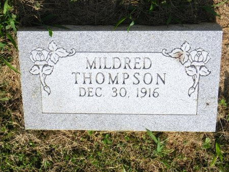COLEMAN THOMPSON, MILDRED - Saline County, Missouri | MILDRED COLEMAN THOMPSON - Missouri Gravestone Photos