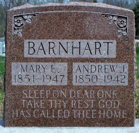 BARNHART, MARY ETTA - Schuyler County, Missouri | MARY ETTA BARNHART - Missouri Gravestone Photos