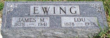 EWING, IDA LOU - Schuyler County, Missouri | IDA LOU EWING - Missouri Gravestone Photos
