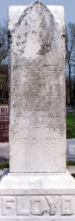 ZENNER FLOYD, MATTIE BELLE - Schuyler County, Missouri | MATTIE BELLE ZENNER FLOYD - Missouri Gravestone Photos