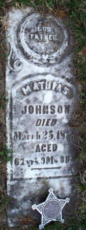 JOHNSON, MATHIAS (VETERAN CW) - Schuyler County, Missouri   MATHIAS (VETERAN CW) JOHNSON - Missouri Gravestone Photos