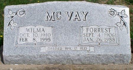 MCVAY, WILMA LUCILLE - Schuyler County, Missouri | WILMA LUCILLE MCVAY - Missouri Gravestone Photos