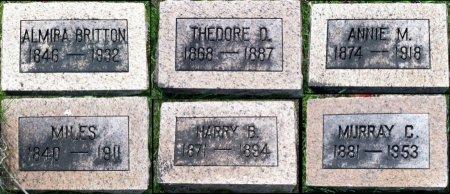SELLS, THEODORE D. - Schuyler County, Missouri | THEODORE D. SELLS - Missouri Gravestone Photos
