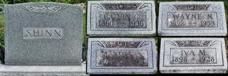 SHINN, CALVIN CUTLER - Schuyler County, Missouri | CALVIN CUTLER SHINN - Missouri Gravestone Photos
