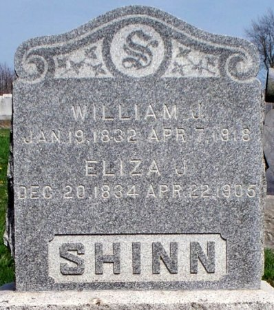 SHINN, ELIZA JANE - Schuyler County, Missouri | ELIZA JANE SHINN - Missouri Gravestone Photos