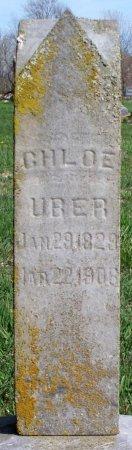 UBER, CHLOE - Schuyler County, Missouri   CHLOE UBER - Missouri Gravestone Photos