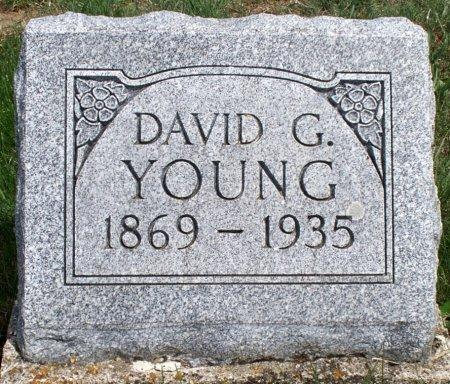 YOUNG, DAVID GRANVILLE - Schuyler County, Missouri | DAVID GRANVILLE YOUNG - Missouri Gravestone Photos