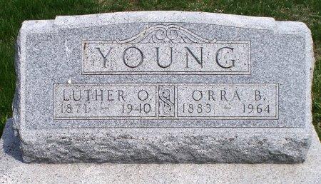 YOUNG, LUTHER OREN - Schuyler County, Missouri | LUTHER OREN YOUNG - Missouri Gravestone Photos