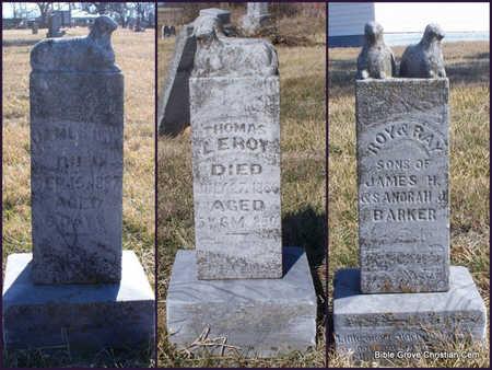 BARKER, RAY - Scotland County, Missouri | RAY BARKER - Missouri Gravestone Photos