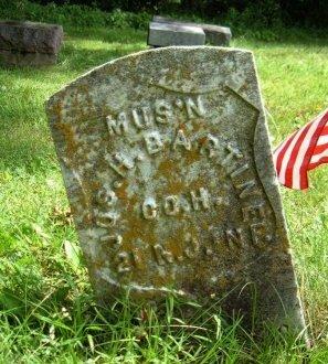 BARTINE, JOSEPH HULL VETERAN - Scotland County, Missouri   JOSEPH HULL VETERAN BARTINE - Missouri Gravestone Photos