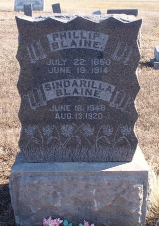 BLAINE, SINDARILLA - Scotland County, Missouri   SINDARILLA BLAINE - Missouri Gravestone Photos
