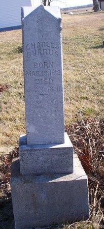 BURRUS, CHARLES - Scotland County, Missouri   CHARLES BURRUS - Missouri Gravestone Photos