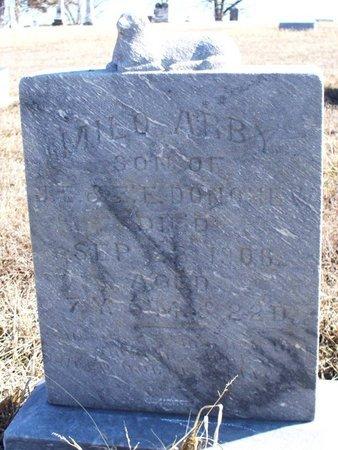 DONOHEW, MILO ABBY - Scotland County, Missouri | MILO ABBY DONOHEW - Missouri Gravestone Photos