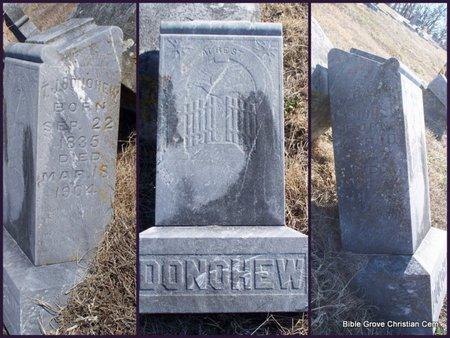 DONOHEW, SARAH ANNE - Scotland County, Missouri | SARAH ANNE DONOHEW - Missouri Gravestone Photos