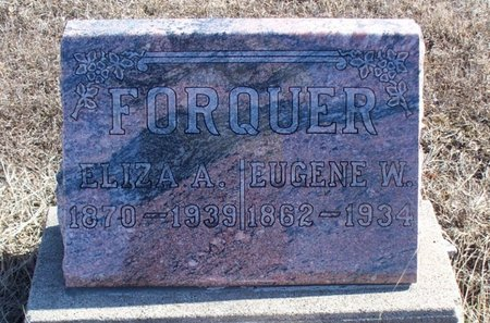 FORQUER, ELIZA A - Scotland County, Missouri | ELIZA A FORQUER - Missouri Gravestone Photos