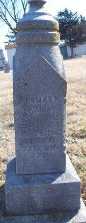 HENDRICKSON, THOMAS M - Scotland County, Missouri | THOMAS M HENDRICKSON - Missouri Gravestone Photos