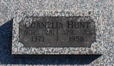 HUNT, CORNELIA - Scotland County, Missouri | CORNELIA HUNT - Missouri Gravestone Photos