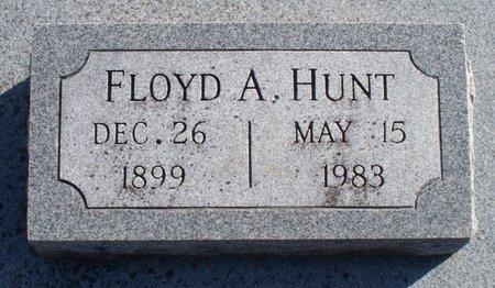 HUNT, FLOYD A - Scotland County, Missouri   FLOYD A HUNT - Missouri Gravestone Photos