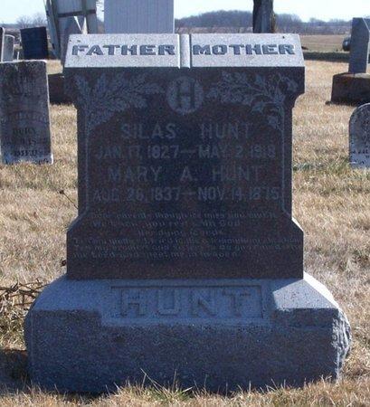 HUNT, SILAS - Scotland County, Missouri | SILAS HUNT - Missouri Gravestone Photos