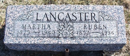 LANCASTER, MARTHA - Scotland County, Missouri | MARTHA LANCASTER - Missouri Gravestone Photos