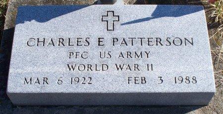 PATTERSON, CHARLES E (VETERAN WWII) - Scotland County, Missouri   CHARLES E (VETERAN WWII) PATTERSON - Missouri Gravestone Photos