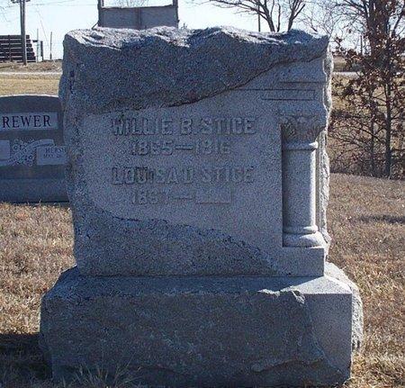 LEFEVER STICE, LOUISA DIANA - Scotland County, Missouri | LOUISA DIANA LEFEVER STICE - Missouri Gravestone Photos