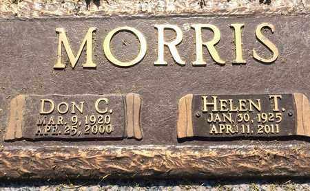 MORRIS, HELEN T. - Scott County, Missouri   HELEN T. MORRIS - Missouri Gravestone Photos