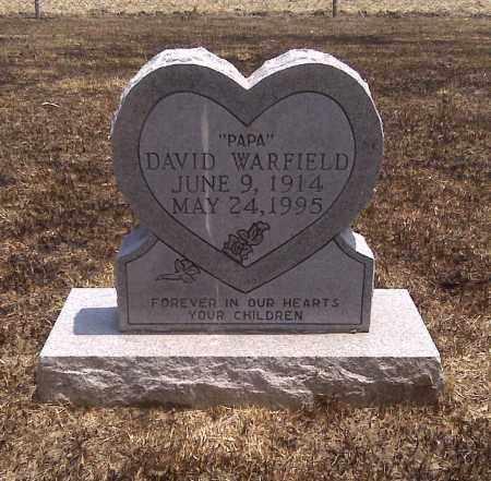 "WARFIELD, DAVID ""PAPA"" - Scott County, Missouri | DAVID ""PAPA"" WARFIELD - Missouri Gravestone Photos"