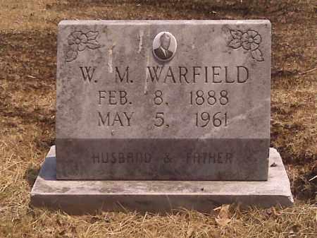 WARFIELD, W M - Scott County, Missouri   W M WARFIELD - Missouri Gravestone Photos