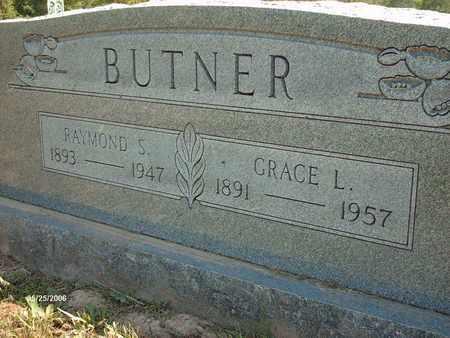 SEAMAN BUTNER, GRACE L. - Shannon County, Missouri | GRACE L. SEAMAN BUTNER - Missouri Gravestone Photos