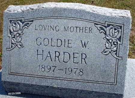 "HARDER, GOLDA ""GOLDIE"" W. - Shannon County, Missouri 