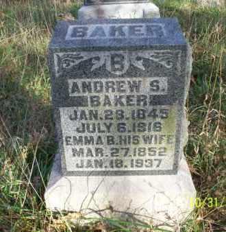 BAKER, EMMA B. - Shelby County, Missouri | EMMA B. BAKER - Missouri Gravestone Photos