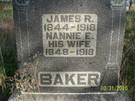 BAKER, JAMES R. - Shelby County, Missouri | JAMES R. BAKER - Missouri Gravestone Photos