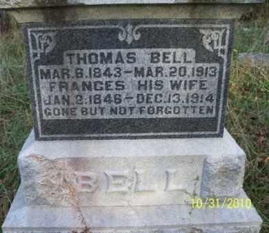 BELL, FRANCES - Shelby County, Missouri | FRANCES BELL - Missouri Gravestone Photos