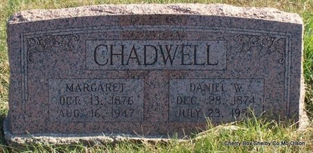 FISHER CHADWELL, MARGARET - Shelby County, Missouri | MARGARET FISHER CHADWELL - Missouri Gravestone Photos