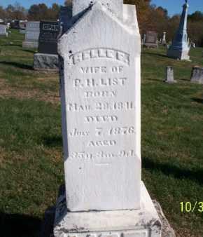 LIST, BELLE F. - Shelby County, Missouri | BELLE F. LIST - Missouri Gravestone Photos
