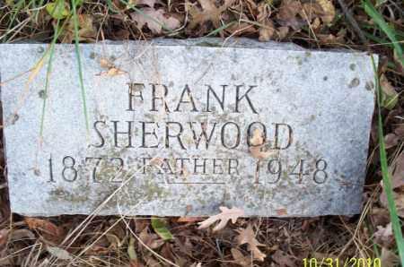 SHERWOOD, FRANK - Shelby County, Missouri   FRANK SHERWOOD - Missouri Gravestone Photos