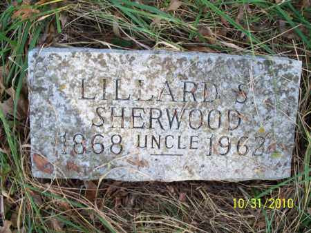 SHERWOOD, LILLARD S. - Shelby County, Missouri   LILLARD S. SHERWOOD - Missouri Gravestone Photos