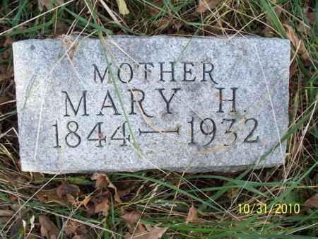 SHERWOOD, MARY H. - Shelby County, Missouri | MARY H. SHERWOOD - Missouri Gravestone Photos