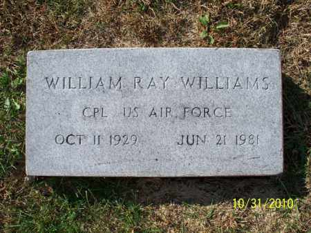 WILLIAMS, WILLIAM RAY (VETERAN) - Shelby County, Missouri | WILLIAM RAY (VETERAN) WILLIAMS - Missouri Gravestone Photos