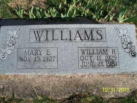 WILLIAMS, WILLIAM R. - Shelby County, Missouri | WILLIAM R. WILLIAMS - Missouri Gravestone Photos