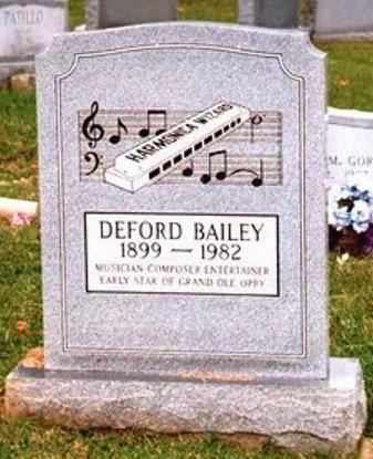 BAILEY, DEFORD (FAMOUS) - St. Clair County, Missouri | DEFORD (FAMOUS) BAILEY - Missouri Gravestone Photos
